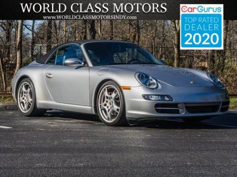 2006 Porsche 911 for sale at World Class Motors LLC in Noblesville IN