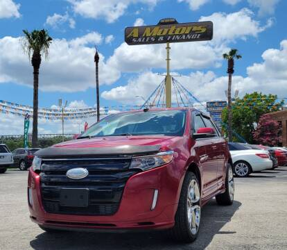 2014 Ford Edge for sale at A MOTORS SALES AND FINANCE - 10110 West Loop 1604 N in San Antonio TX