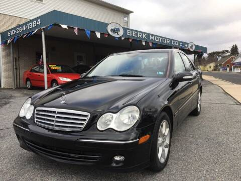 2007 Mercedes-Benz C-Class for sale at Berk Motor Co in Whitehall PA