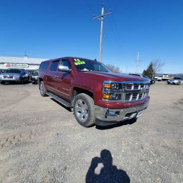 2015 Chevrolet Silverado 1500 for sale at ALL WHEELS DRIVEN in Wellsboro PA