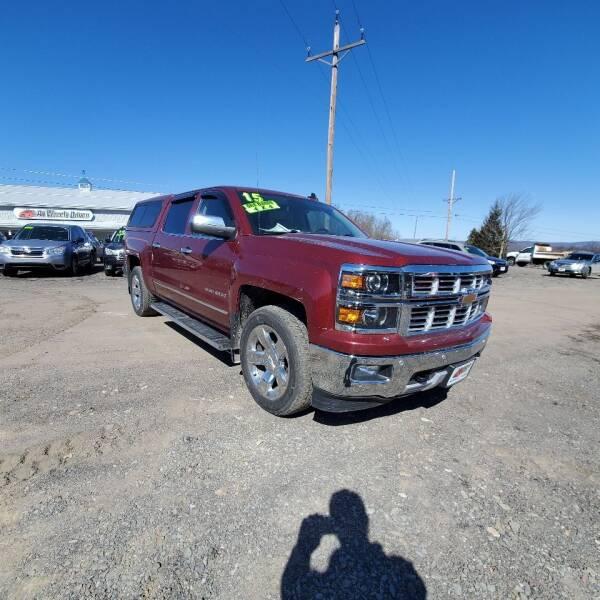 2015 Chevrolet Silverado 1500 for sale at ALL WHEELS DRIVEN in Wellsboro PA