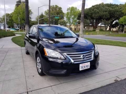 2014 Nissan Sentra for sale at Top Motors in San Jose CA