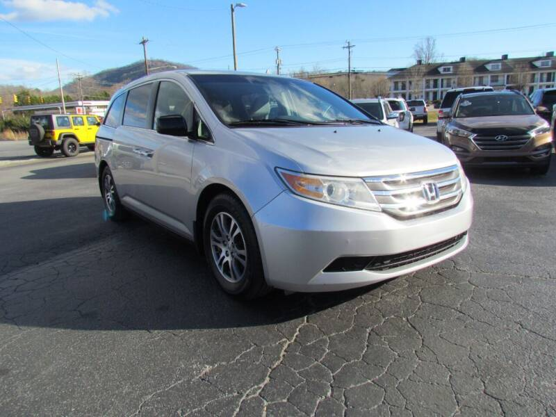 2012 Honda Odyssey for sale at Hibriten Auto Mart in Lenoir NC