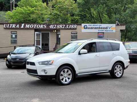 2012 Mitsubishi Outlander for sale at Ultra 1 Motors in Pittsburgh PA