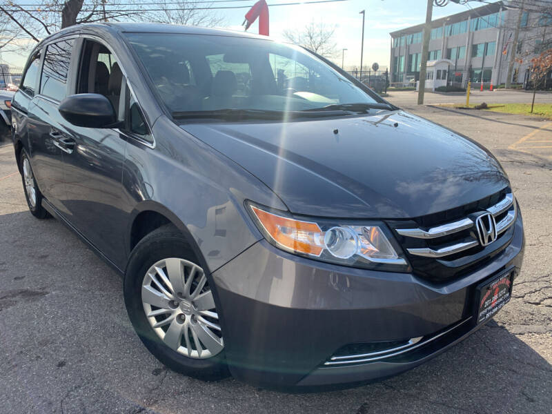 2014 Honda Odyssey for sale at JerseyMotorsInc.com in Teterboro NJ