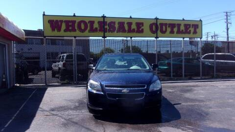 2011 Chevrolet Malibu for sale at LONG BROTHERS CAR COMPANY in Cleveland OH