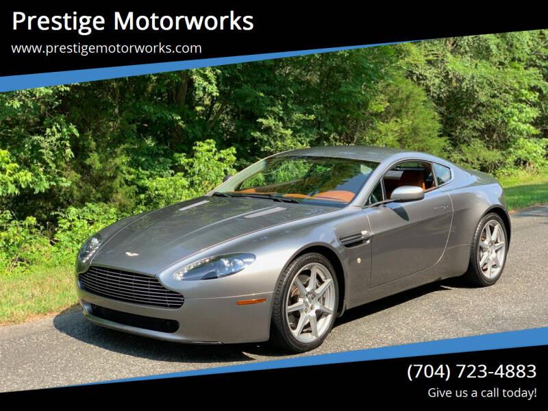 2007 Aston Martin V8 Vantage for sale at Prestige Motorworks in Concord NC