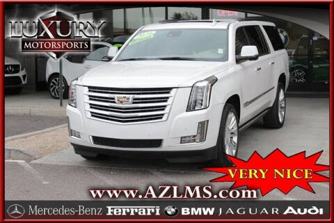 2020 Cadillac Escalade ESV for sale at Luxury Motorsports in Phoenix AZ