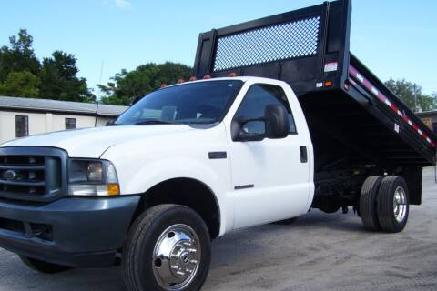2002 Ford F-450 Super Duty for sale at buzzell Truck & Equipment in Orlando FL