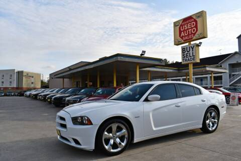 2014 Dodge Charger for sale at Houston Used Auto Sales in Houston TX