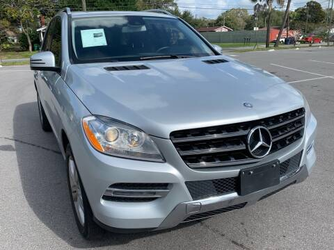 2015 Mercedes-Benz M-Class for sale at Consumer Auto Credit in Tampa FL
