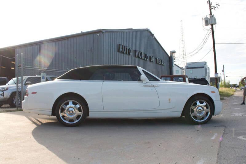 2009 Rolls-Royce Phantom Drophead Coupe for sale at TEXAN RV, LTD   Dba. AUTO & RV WORLD OF TEXAS. in Katy TX