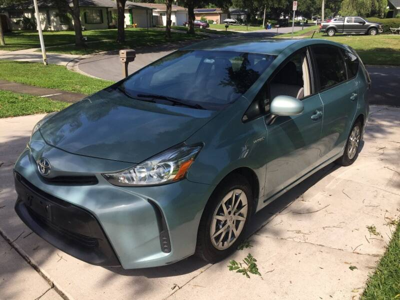 2015 Toyota Prius v for sale at Regal Cars of Florida-Clearwater Hybrids in Clearwater FL