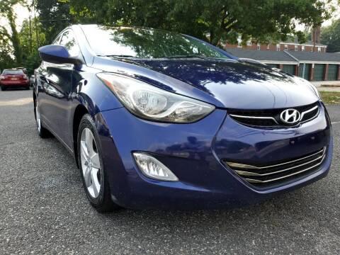 2013 Hyundai Elantra for sale at Moor's Automotive in Hackettstown NJ
