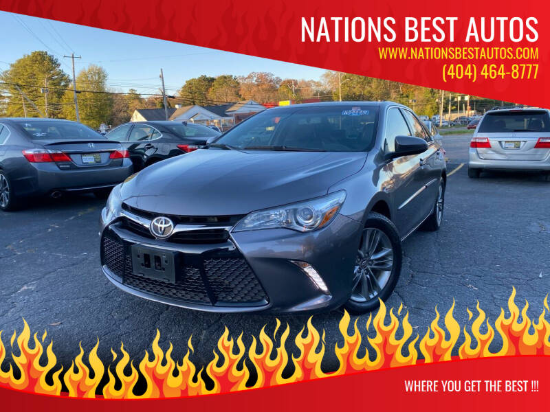 2017 Toyota Camry for sale at Nations Best Autos in Decatur GA
