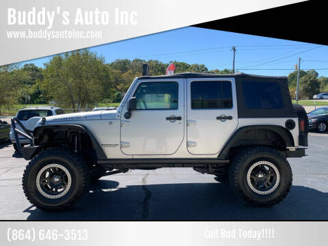 2010 Jeep Wrangler Unlimited for sale at Buddy's Auto Inc in Pendleton, SC