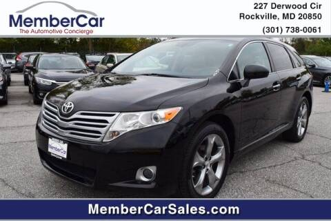 2010 Toyota Venza for sale at MemberCar in Rockville MD