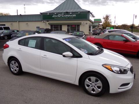 2015 Kia Forte for sale at Jim O'Connor Select Auto in Oconomowoc WI