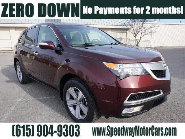 2013 Acura MDX for sale at Speedway Motors in Murfreesboro TN