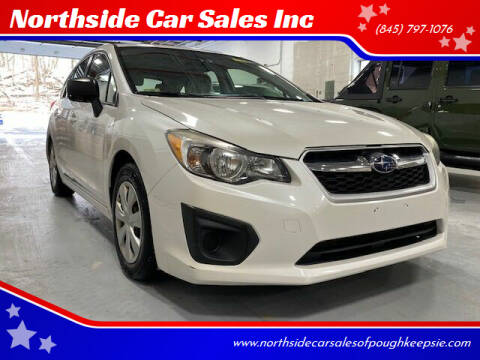 2013 Subaru Impreza for sale at Northside Car Sales Inc in Poughkeepsie NY