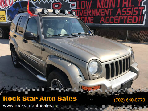 2003 Jeep Liberty for sale at Rock Star Auto Sales in Las Vegas NV