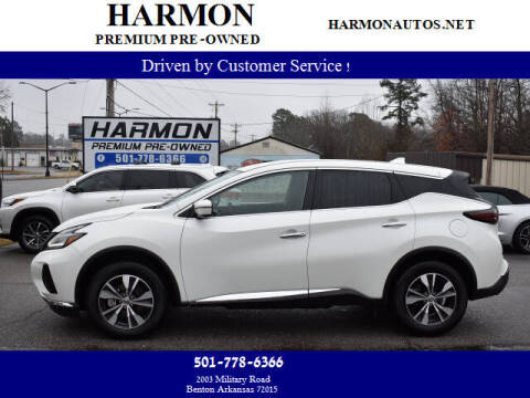 2019 Nissan Murano for sale at Harmon Premium Pre-Owned in Benton AR