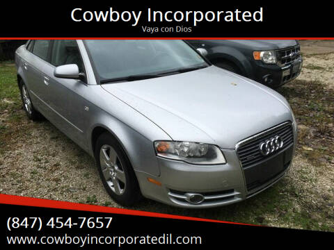 2007 Audi A4 for sale at Cowboy Incorporated in Waukegan IL