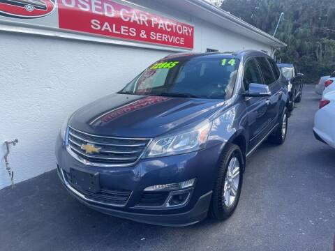 2014 Chevrolet Traverse for sale at Used Car Factory Sales & Service in Port Charlotte FL