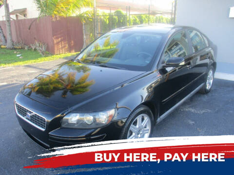2006 Volvo S40 for sale at K & V AUTO SALES LLC in Hollywood FL