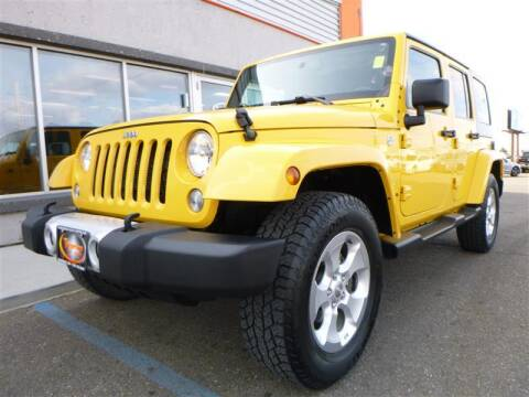 2015 Jeep Wrangler Unlimited for sale at Torgerson Auto Center in Bismarck ND