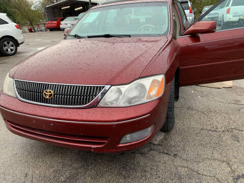 2001 Toyota Avalon for sale at BULLSEYE MOTORS INC in New Braunfels TX