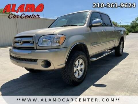 2006 Toyota Tundra for sale at Alamo Car Center in San Antonio TX