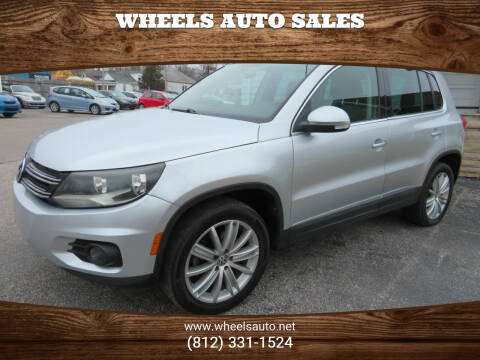 2013 Volkswagen Tiguan for sale at Wheels Auto Sales in Bloomington IN