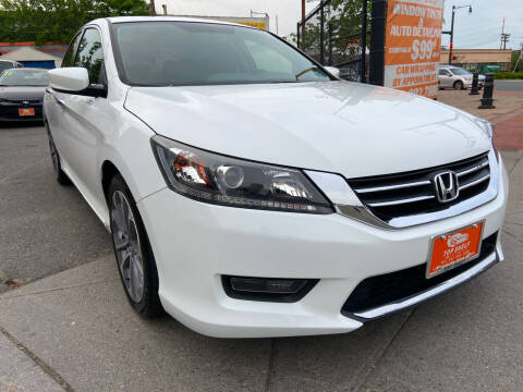 2014 Honda Accord for sale at TOP SHELF AUTOMOTIVE in Newark NJ
