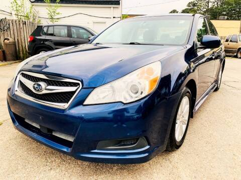 2010 Subaru Legacy for sale at Auto Space LLC in Norfolk VA