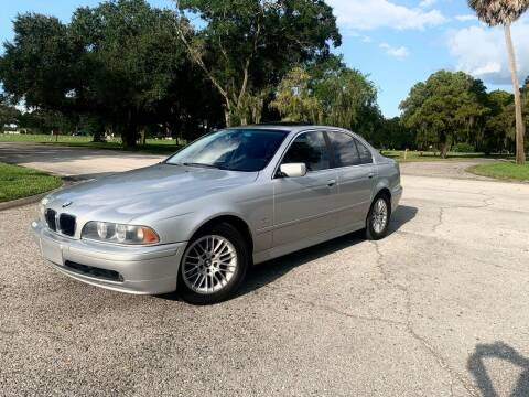 2002 BMW 5 Series for sale at FLORIDA MIDO MOTORS INC in Tampa FL