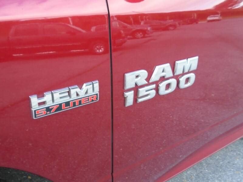 2014 RAM Ram Pickup 1500 4x4 Big Horn 4dr Quad Cab 6.3 ft. SB Pickup - Westminster MD