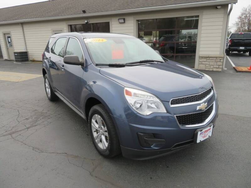 2014 Chevrolet Equinox for sale at Tri-County Pre-Owned Superstore in Reynoldsburg OH