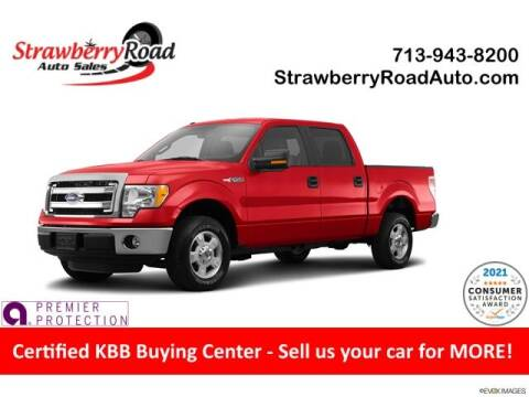 2014 Ford F-150 for sale at Strawberry Road Auto Sales in Pasadena TX