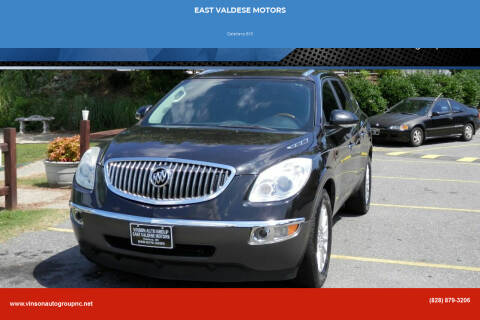 2010 Buick Enclave for sale at EAST VALDESE MOTORS in Valdese NC