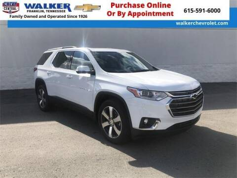 2020 Chevrolet Traverse for sale at WALKER CHEVROLET in Franklin TN