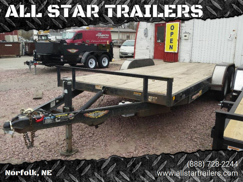 2013 USED 20 FOOT ELECTRIC TILTBED for sale at ALL STAR TRAILERS Used in , NE