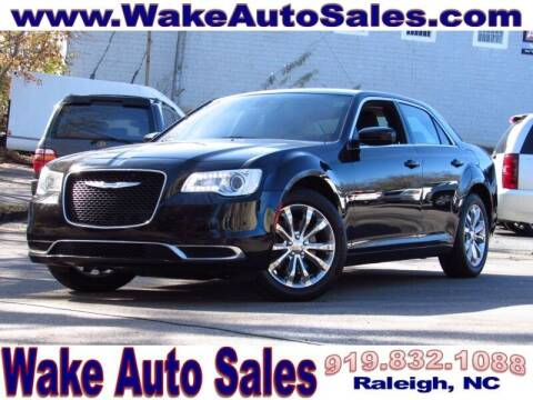 2018 Chrysler 300 for sale at Wake Auto Sales Inc in Raleigh NC