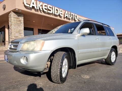 2003 Toyota Highlander for sale at Lakeside Auto Brokers in Colorado Springs CO