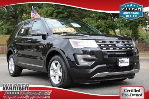 2017 Ford Explorer for sale at Warner Motors in East Orange NJ