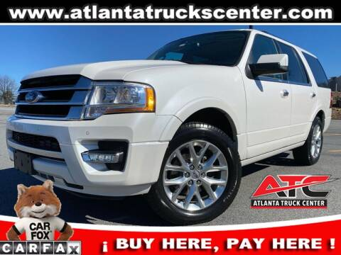 2015 Ford Expedition for sale at ATLANTA TRUCK CENTER LLC in Brookhaven GA