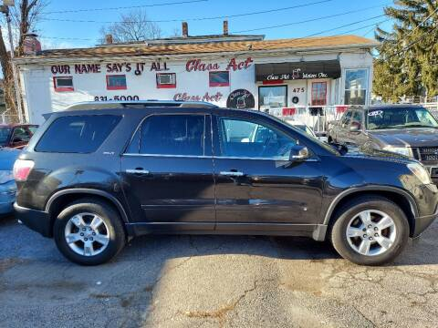2009 GMC Acadia for sale at Class Act Motors Inc in Providence RI