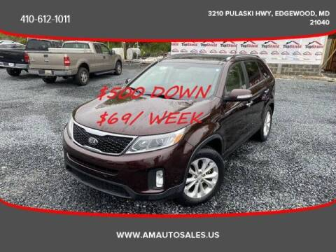 2015 Kia Sorento for sale at A&M Auto Sales in Edgewood MD
