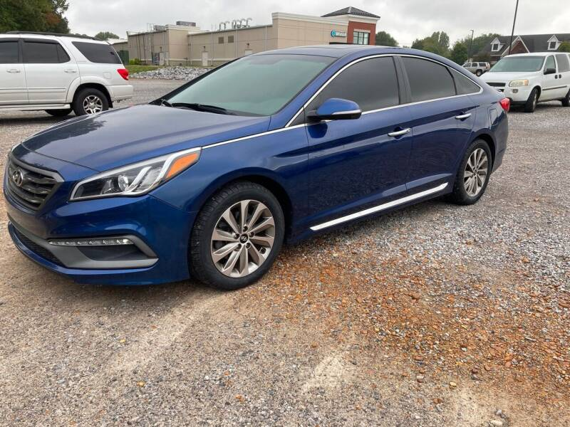 2017 Hyundai Sonata for sale at McCully's Automotive in Benton KY