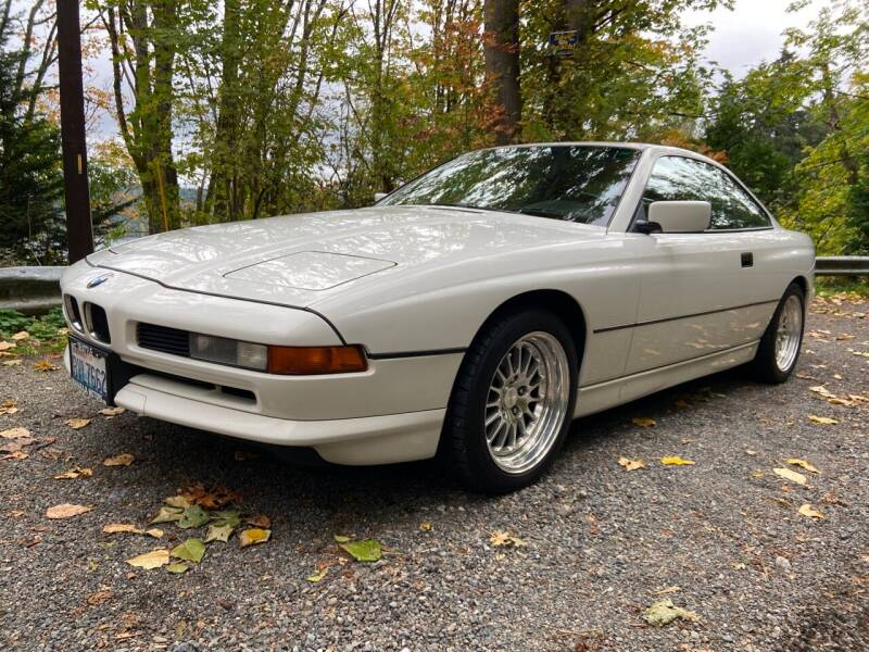1991 BMW 8 Series for sale at Maharaja Motors in Seattle WA